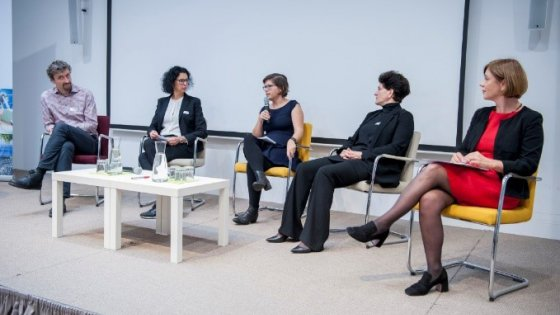 Combined female expertise at the 3rd IoT Expert Congress | © Copyright: Austrian Standards; photographer: Peter Tuma